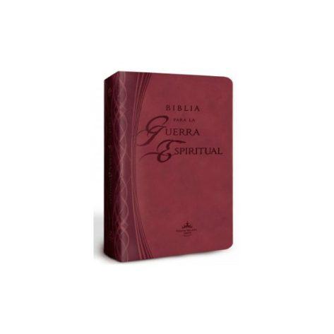 BIBLIA PARA LA GUERRA ESPIRITUAL PIEL- IMITACIÓN PIEL