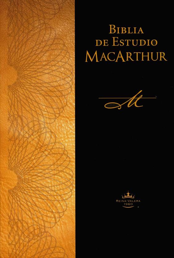 BIBLIA DE ESTUDIO MACARTHUR TAPA DURA