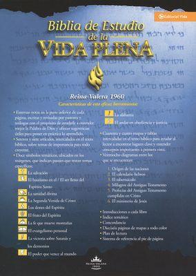 BIBLIA VIDA PLENA TELA NEGRO