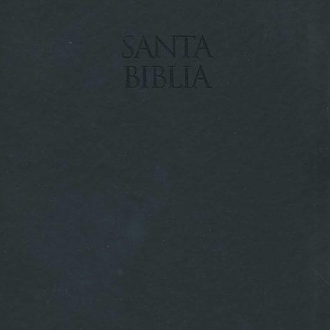 B Letra Grande Piel Italiana Negro 1960