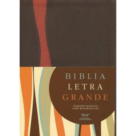 B. RVC LG manual simil piel chocolate/cobrizo indice