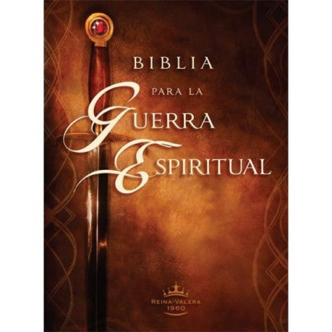 BIBLIA PARA LA GUERRA ESPIRITUAL TAPA DURA