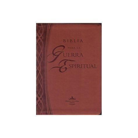 BIBLIA PARA LA GUERRA ESPIRITUAL IMIT PIEL