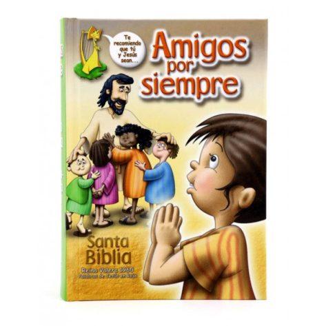BIBLIA RVR60 AMIGOS POR SIEMPRE TD