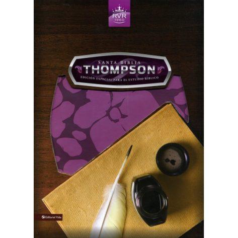BIBLIA RVR1960 THOMPSON EDICION ESPECIAL ROSA