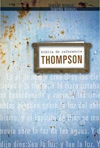 BIBLIA RVR60 THOMPSON PERSONAL TELA
