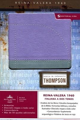 BIBLIA RVR60 THOMPSON PERSONAL LILA/GRIS