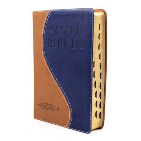 B. RVR1909 PIEL MARRON CLARO/AZUL INDICE