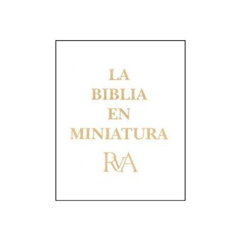 BIBLIA EN MINIATURA DORADA
