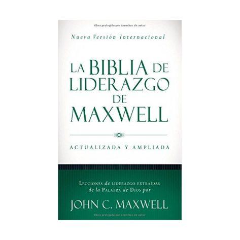 B. DE LIDERAZGO DE MAXWELL NVI PIEL CAFE