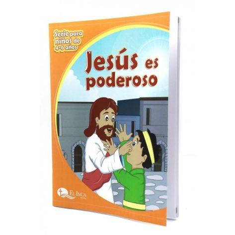 LIBRO DE 4-6 VOL 5 ¡JESÚS ES PODEROSO!