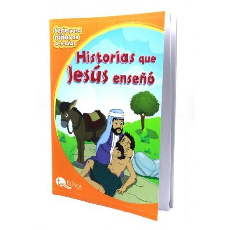LIBRO DE 4-6 VOL. 7 HISTORIAS QUE JESÚS ENSEÑÓ