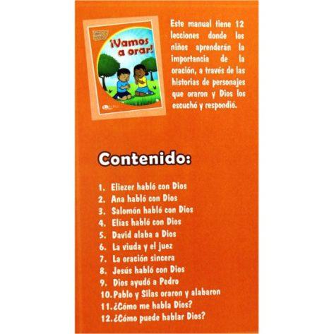 LIBRO DE 4-6 Vol. 6 ¡VAMOS A ORAR!
