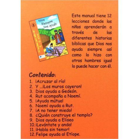 LIBRO 4-6 TOMO 8 DIOS SIEMPRE NOS AYUDA