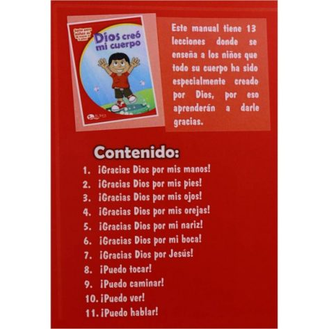 LIBRO DE CUNA VOL. 1 DIOS CREO MI CUERPO (ED 2019)