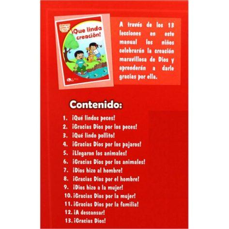 LIBRO DE CUNA VOL. 3 QUE LINDA CREACION (ED 2019)