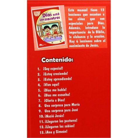 LIBRO DE CUNA VOL. 4 DIOS ESTA CON NOSOTROS (ED 2019)