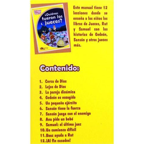LIBRO DE 7-9 VOL. 5 ¿QUIÉNES FUERON LOS JUECES? (ED. 2019)