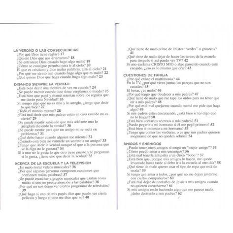 103 Preguntas/Niños/Bueno O Malo