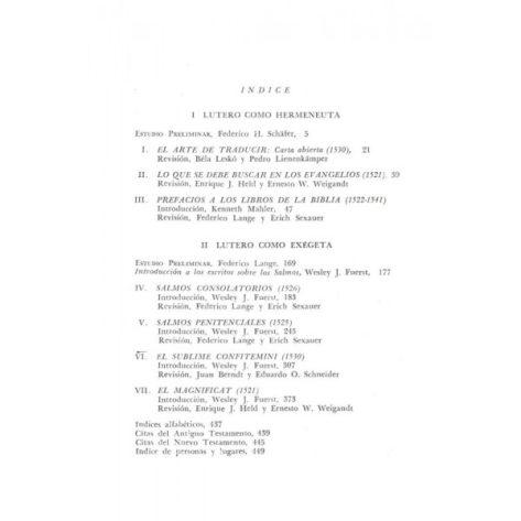 Martin Lutero Interprete Biblico