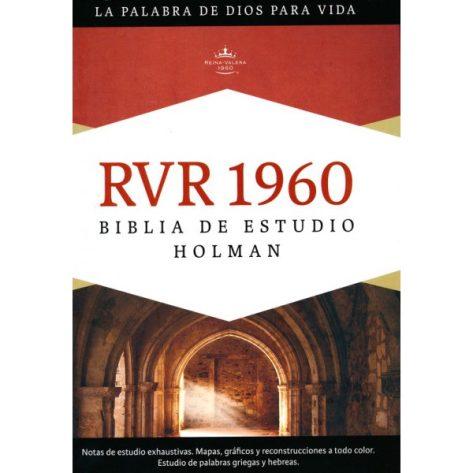 Biblia RVR 1960 de Estudio Holman, Tapa Dura