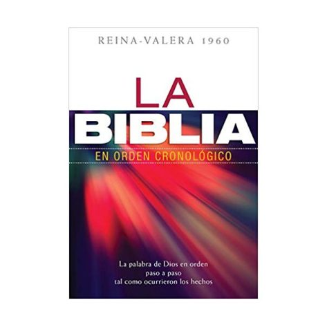 BIBLIA CRONOLOGICA TAPA DURA NVA ED