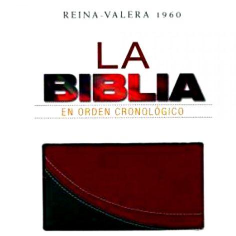BIBLIA CRONOLOGICA NVA ED DUOTONO ROJO