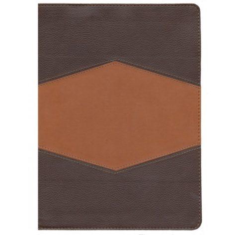 Biblia de Estudio Holman - Imitación Piel chocolate con Índice
