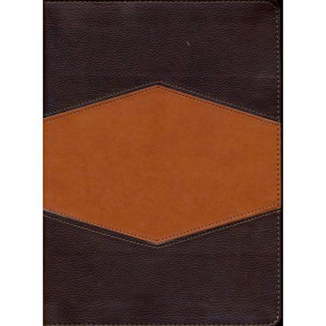 Biblia de Estudio Holman - Imitación piel chocolate