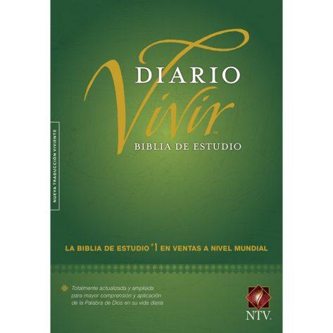 BIBLIA NTV DE ESTUDIO DEL DIARIO VIVIR TAPA DURA