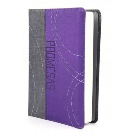 B. RVR60 Edición Promesas para Jóvenes, piel color purpura