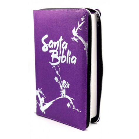B. NTV Santa Biblia morada edición zipe