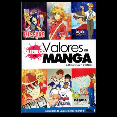 Libro de valores en manga Vol. 1