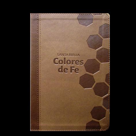 Biblia de Estudio Colores de Fe.