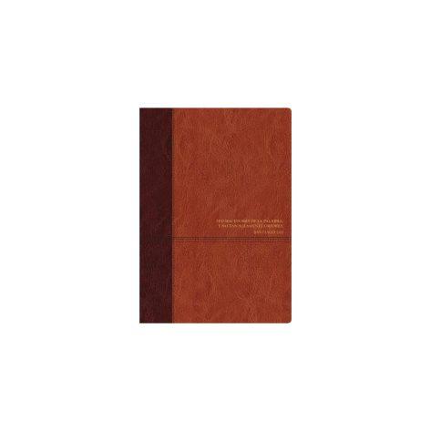 Biblia de Estudio del Diario Vivir Rvr60 cafe claro