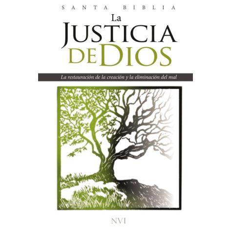 Biblia de Estudio Justicia de Dios tapa rustica