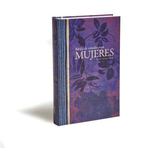 Biblia de estudio para mujeres floreada de Tapa Dura