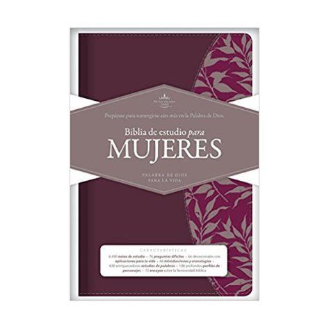 Biblia de Estudio para Mujeres color Vino