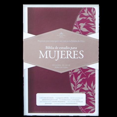 BIBLIA DE ESTUDIO PARA MUJERES RVR60 SIMIL PIEL