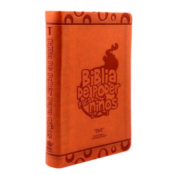 BIBLIA DE PODER PARA NIÑOS PIEL