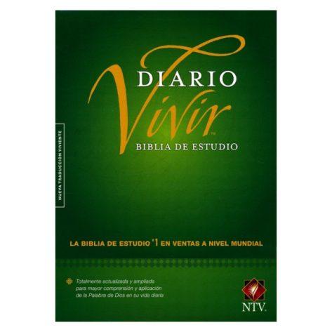 Biblia NTV EStudio Diario Vivir cafe