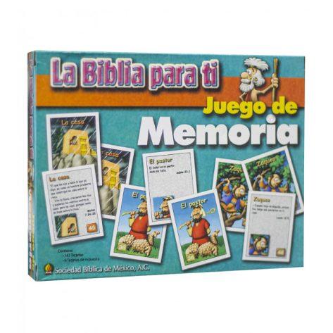 LA BIBLIA PARA TI, JUEGO DE MEMORIA