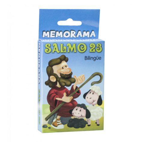 MEMORAMA SALMO 23 BILINGUE