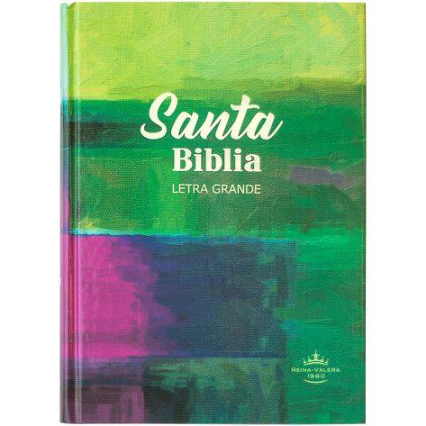 Biblia RVR60 Allego verde c/ morado
