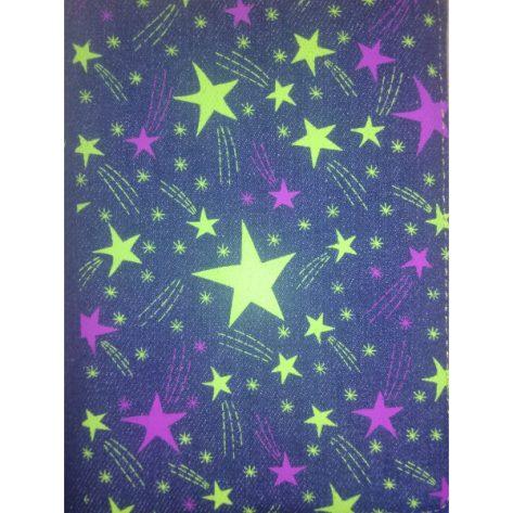 B. RV60 Azul con estrellas, cierre