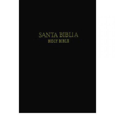 BIBLIA BILINGUE RVR60/KJV TAMAÑO PERSONAL TAPA DURA