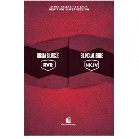 BIBLIA BILINGÜE TAPA DURA RVR / NKJV