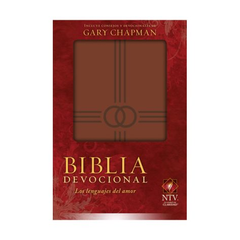 BIBLIA PARA BODA NTV LOS LENGUAJES DEL AMOR MARRÓN