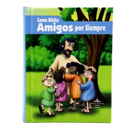 BIBLIA AMIGOS POR SIEMPRE RV60 AZUL