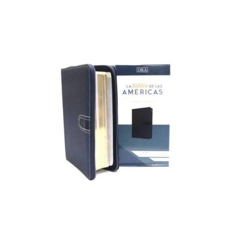 BIBLIA DE LAS AMERICAS ULTRAFINA COMPACTA CON CIERRE